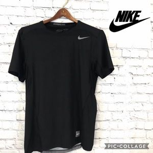 Nike Pro Combat Women's Athletic T-shirt Black